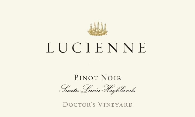 Lucienne Doctor's Vineyard Pinot Noir 2018  Front Label