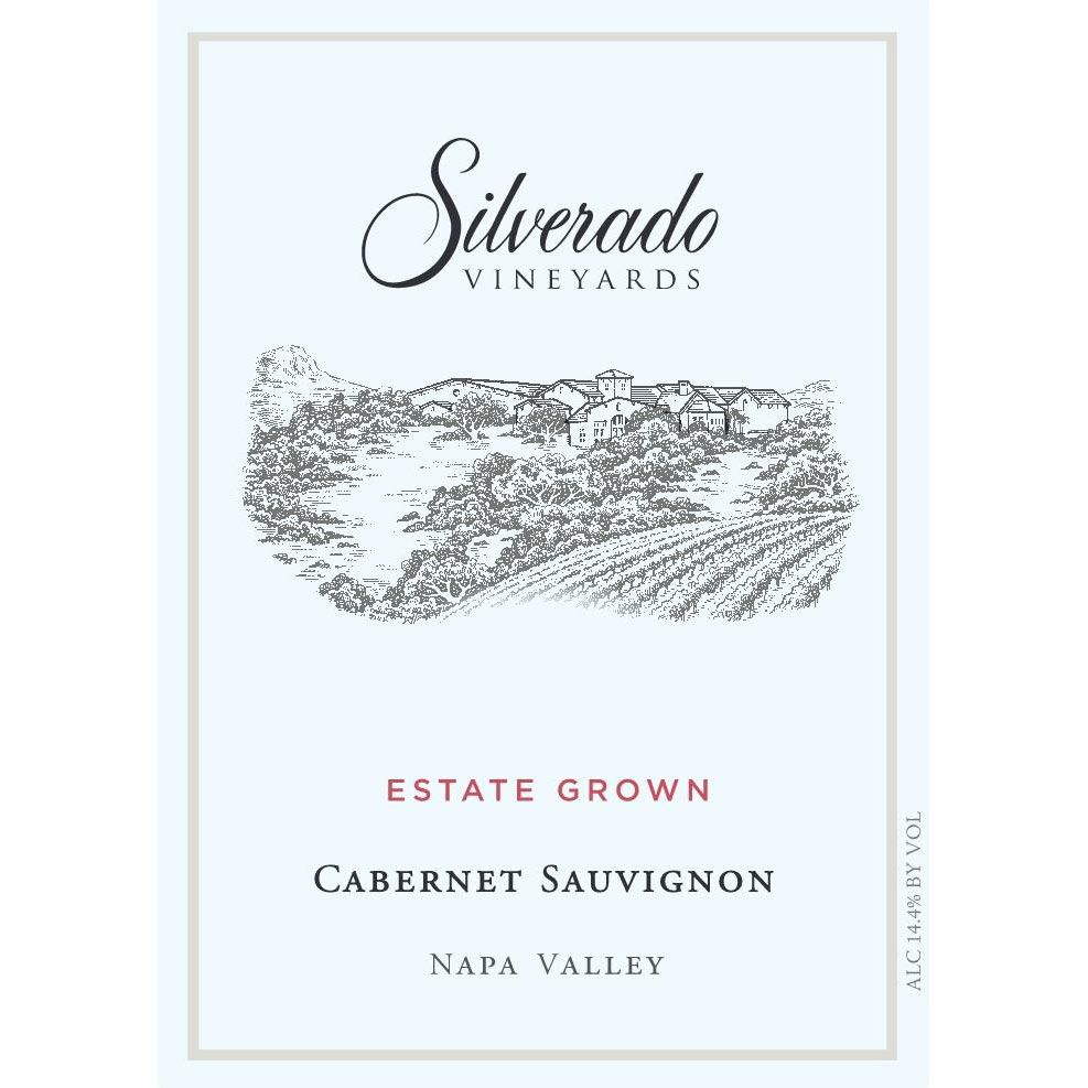 Silverado Cabernet Sauvignon (375ML half-bottle) 2016  Front Label