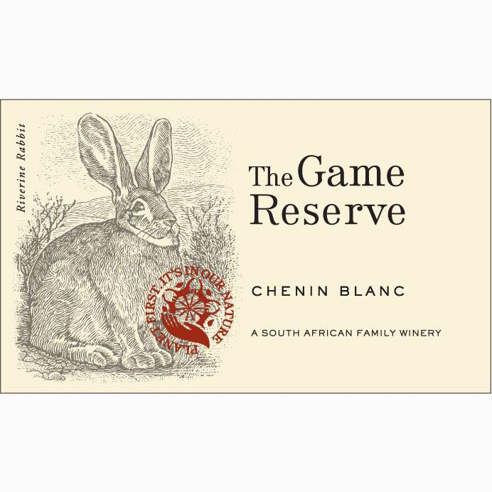 Graham Beck Game Reserve Chenin Blanc 2018  Front Label