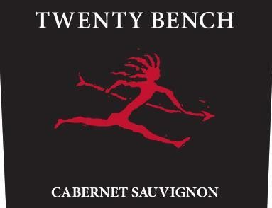 Twenty Bench North Coast Cabernet Sauvignon 2017 Front Label