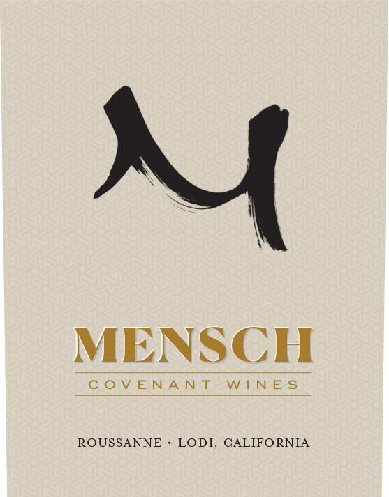 Covenant Mensch Roussanne (OU Kosher) 2018  Front Label