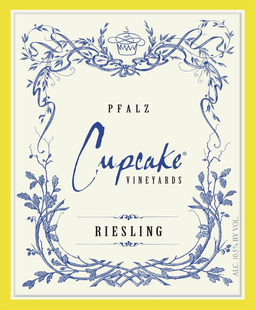 Cupcake Vineyards Riesling 2017 Front Label
