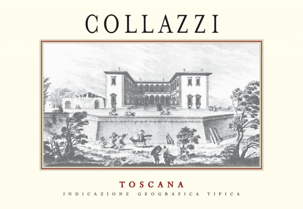 I Collazzi Toscana Collazzi 2015 Front Label