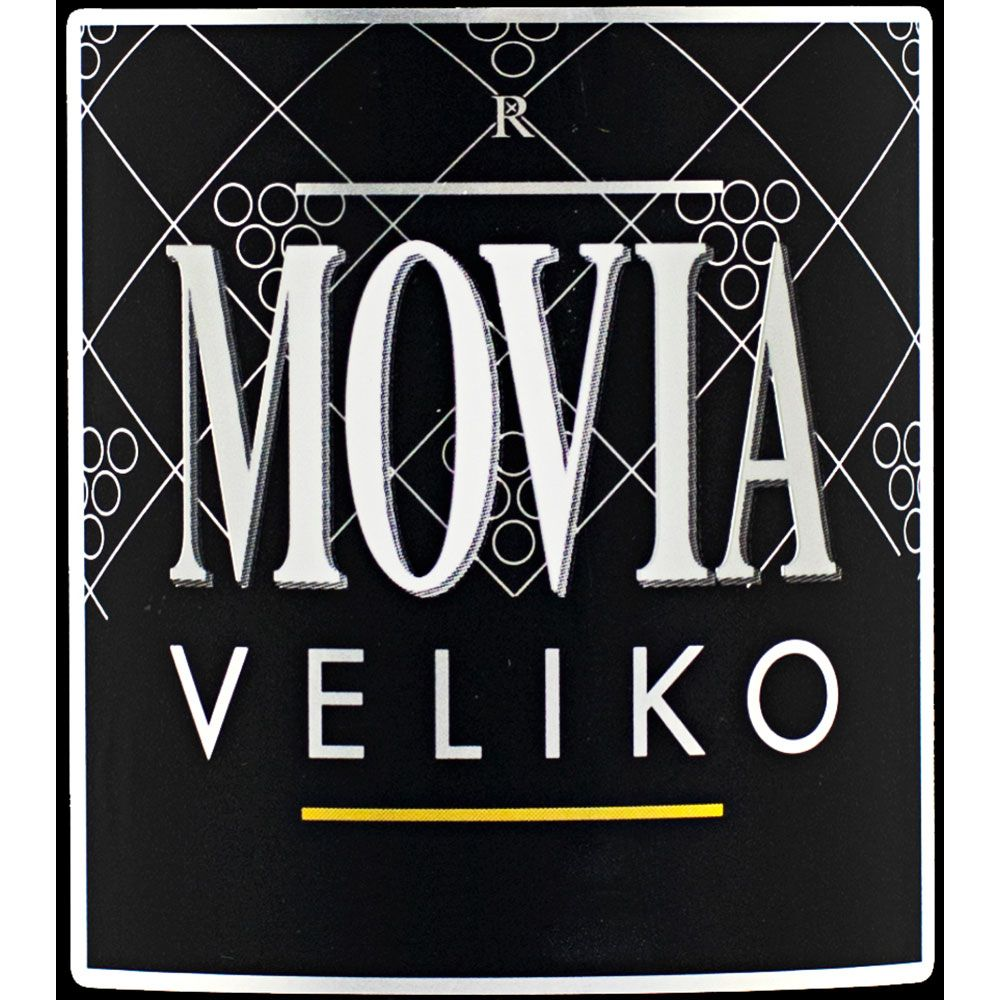 Movia Veliko Bianco 2011  Front Label
