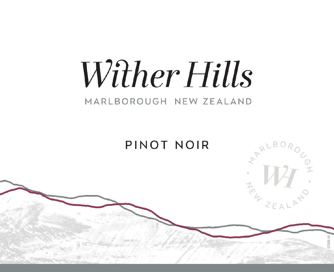 Wither Hills Pinot Noir 2016  Front Label