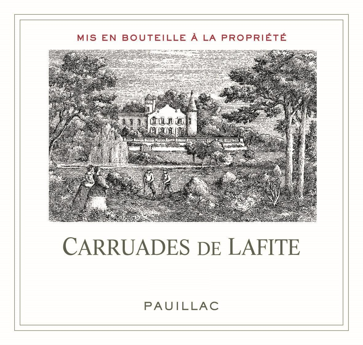 Carruades de Lafite (Futures Pre-Sale) 2019  Front Label