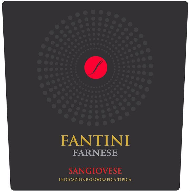 Fantini Sangiovese 2018  Front Label