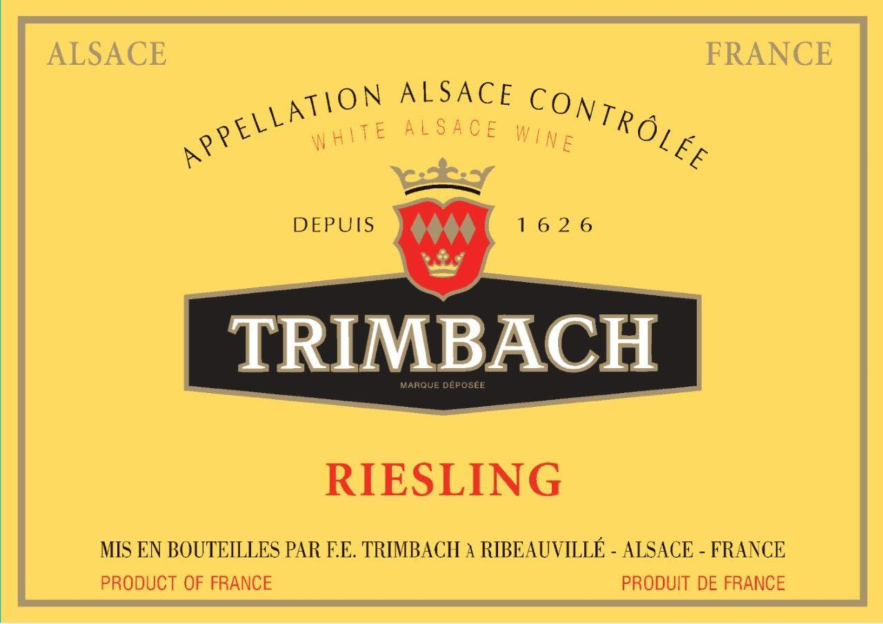 Trimbach Riesling 2018  Front Label