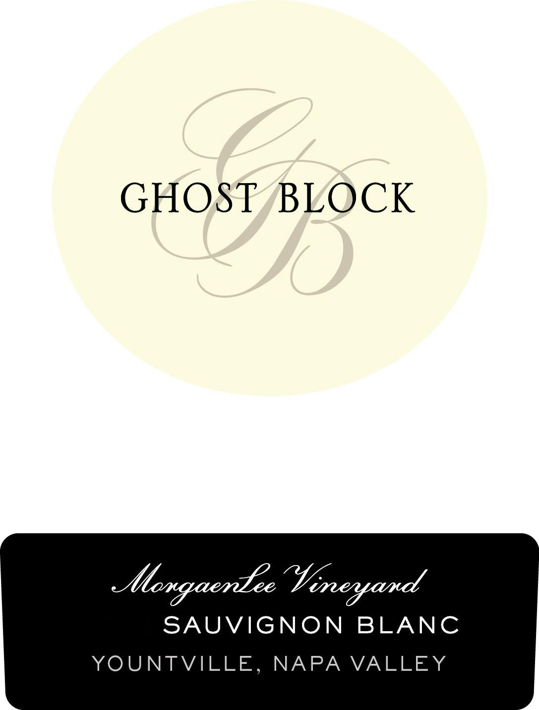 Ghost Block MorgaenLee Sauvignon Blanc 2019  Front Label