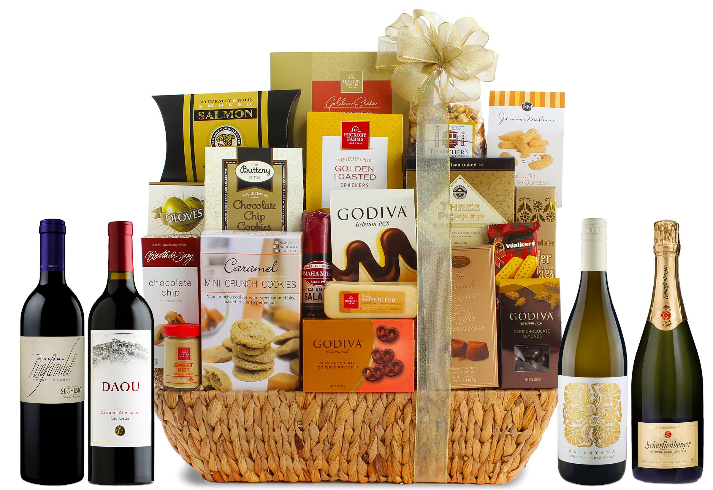 wine.com 90 Point Grand Gourmet Wine Gift Basket  Gift Product Image