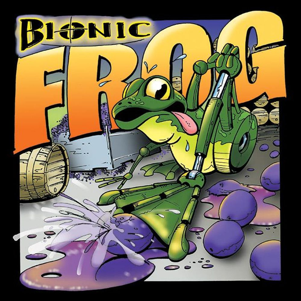 Cayuse Bionic Frog Syrah 2017  Front Label