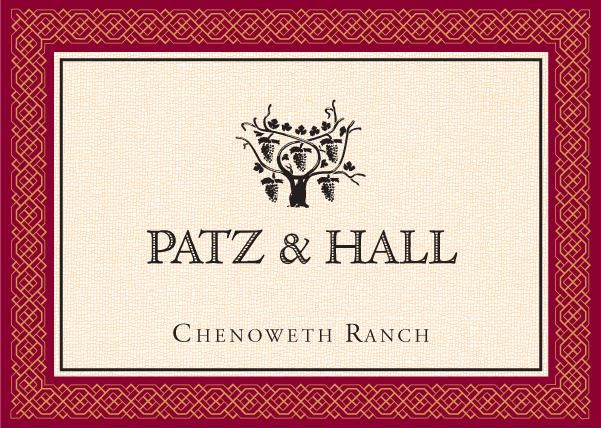 Patz & Hall Chenoweth Ranch Pinot Noir 2016  Front Label