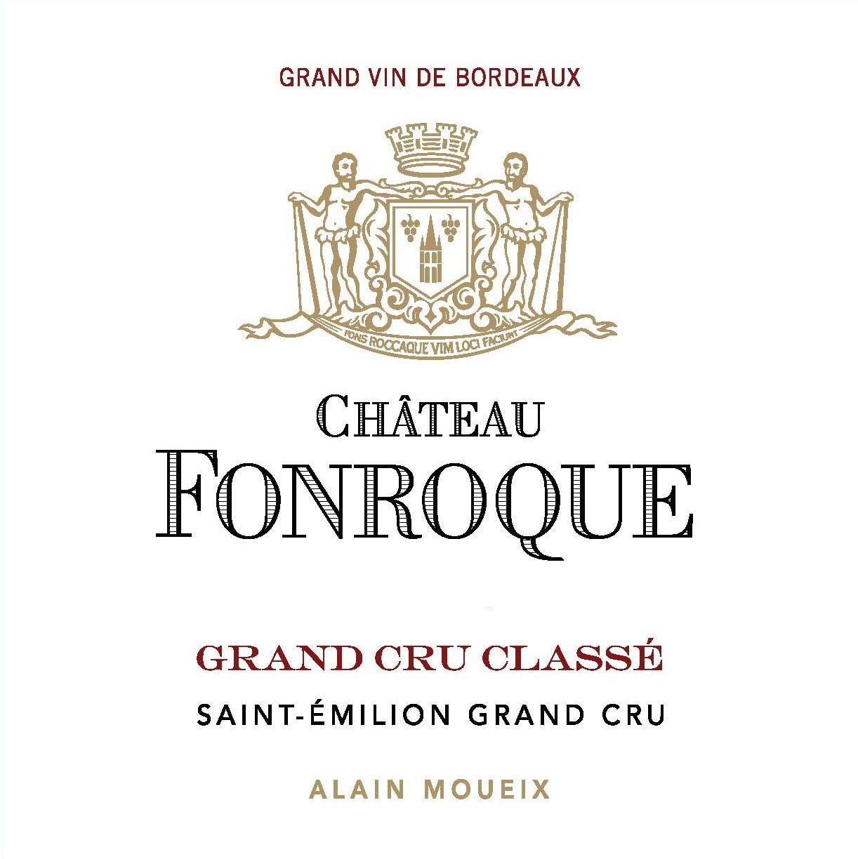 Chateau Fonroque (Futures Pre-Sale) 2018  Front Label