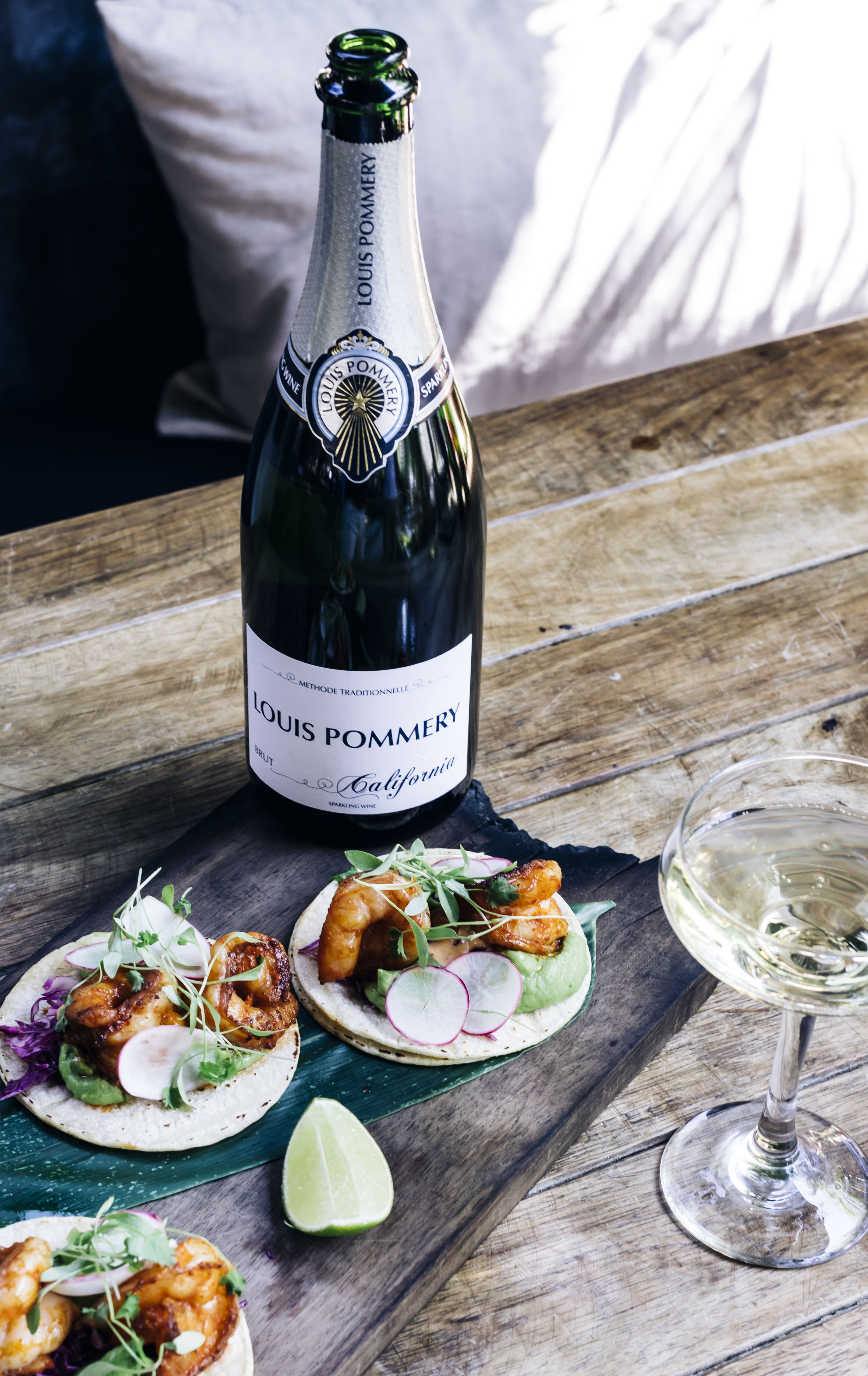 Louis Pommery Brut California Food Pairing Gift Product Image