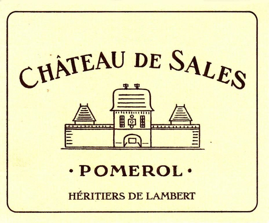 Chateau de Sales  2015 Front Label