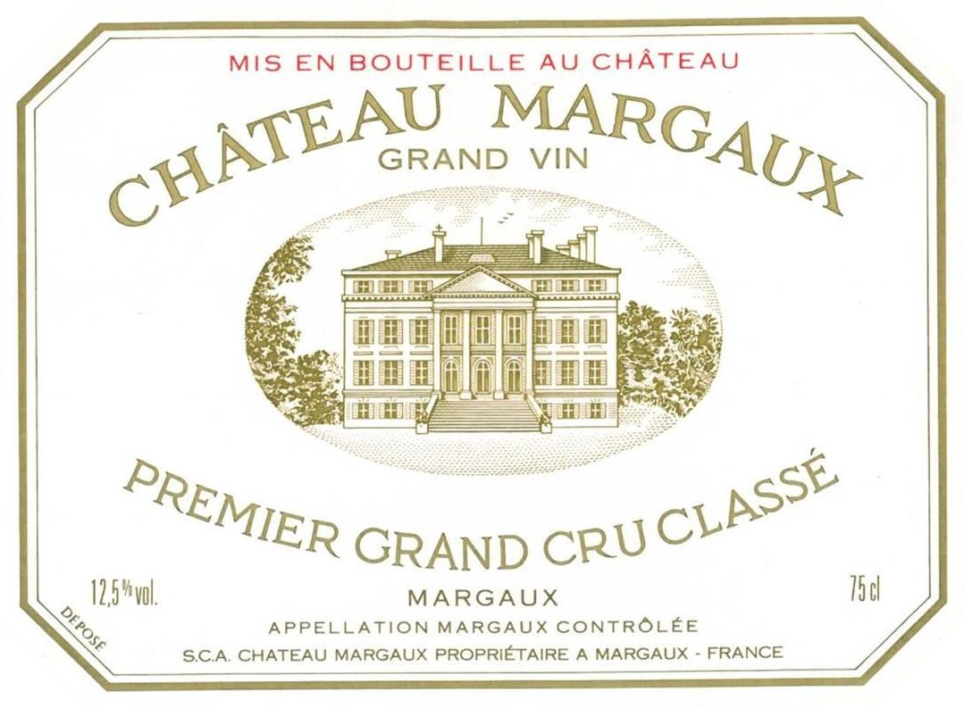 Chateau Margaux  1989  Front Label