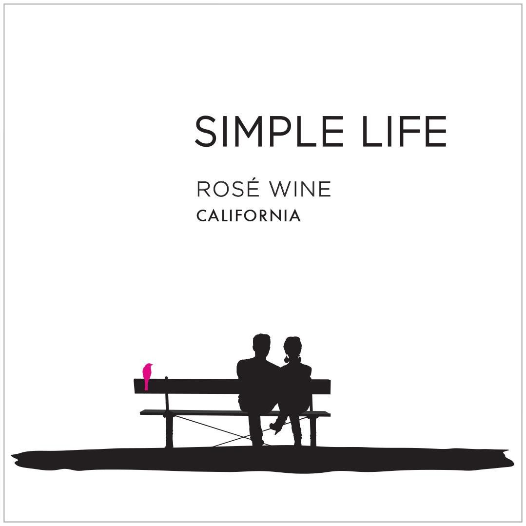 Simple Life Rose 2019  Front Label
