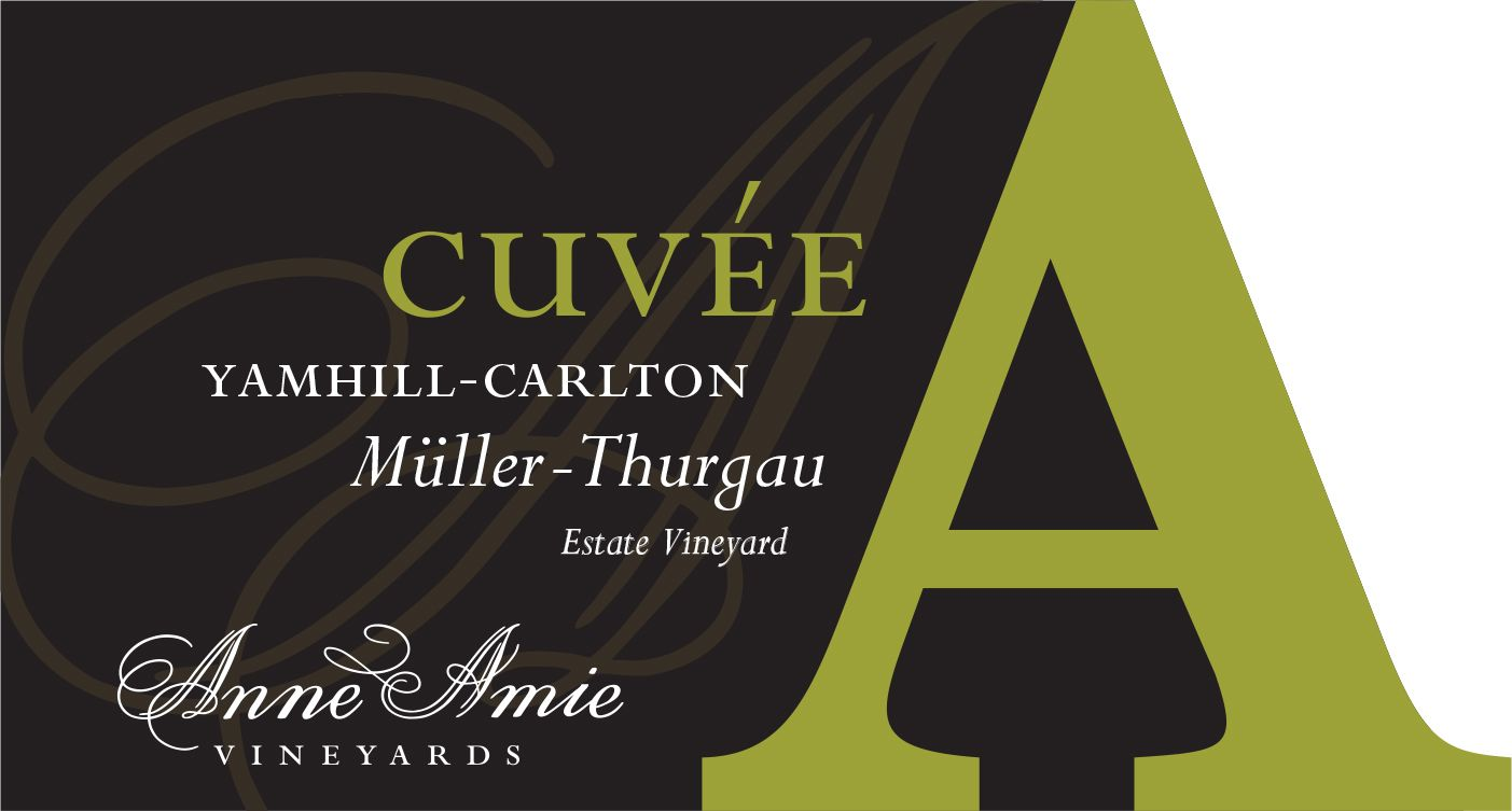 Anne Amie Cuvee A Muller-Thurgau 2018  Front Label