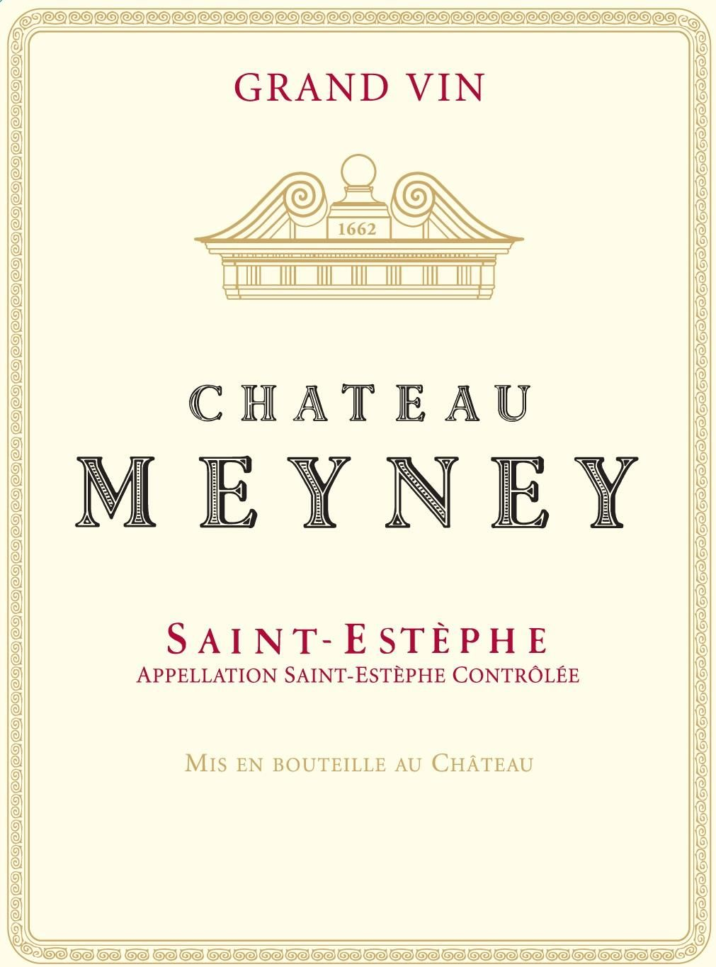 Chateau Meyney (Futures Pre-Sale) 2018  Front Label