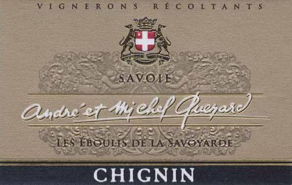 Andre & Michel Quenard Chignin Blanc 2018  Front Label