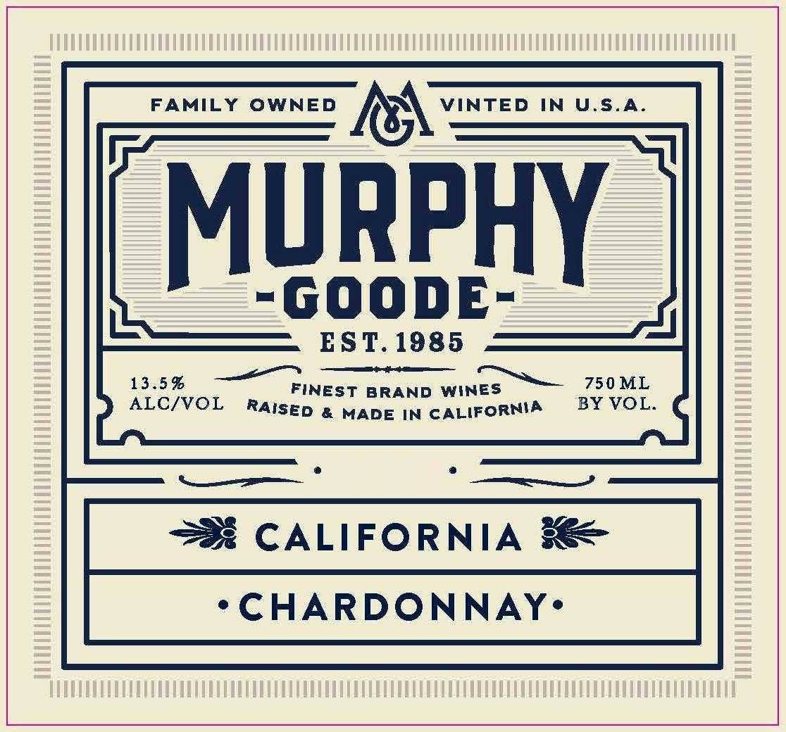 Murphy-Goode California Chardonnay 2018  Front Label