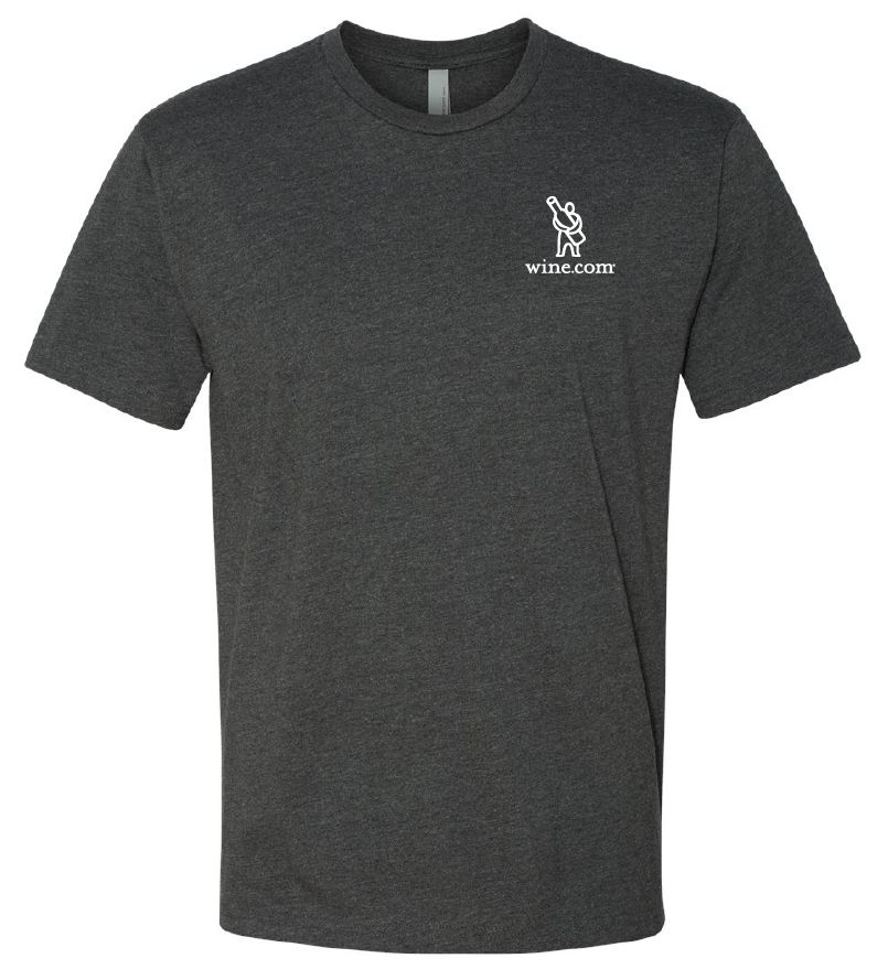 wine.com Men's Tee in Charcoal – Medium  Gift Product Image