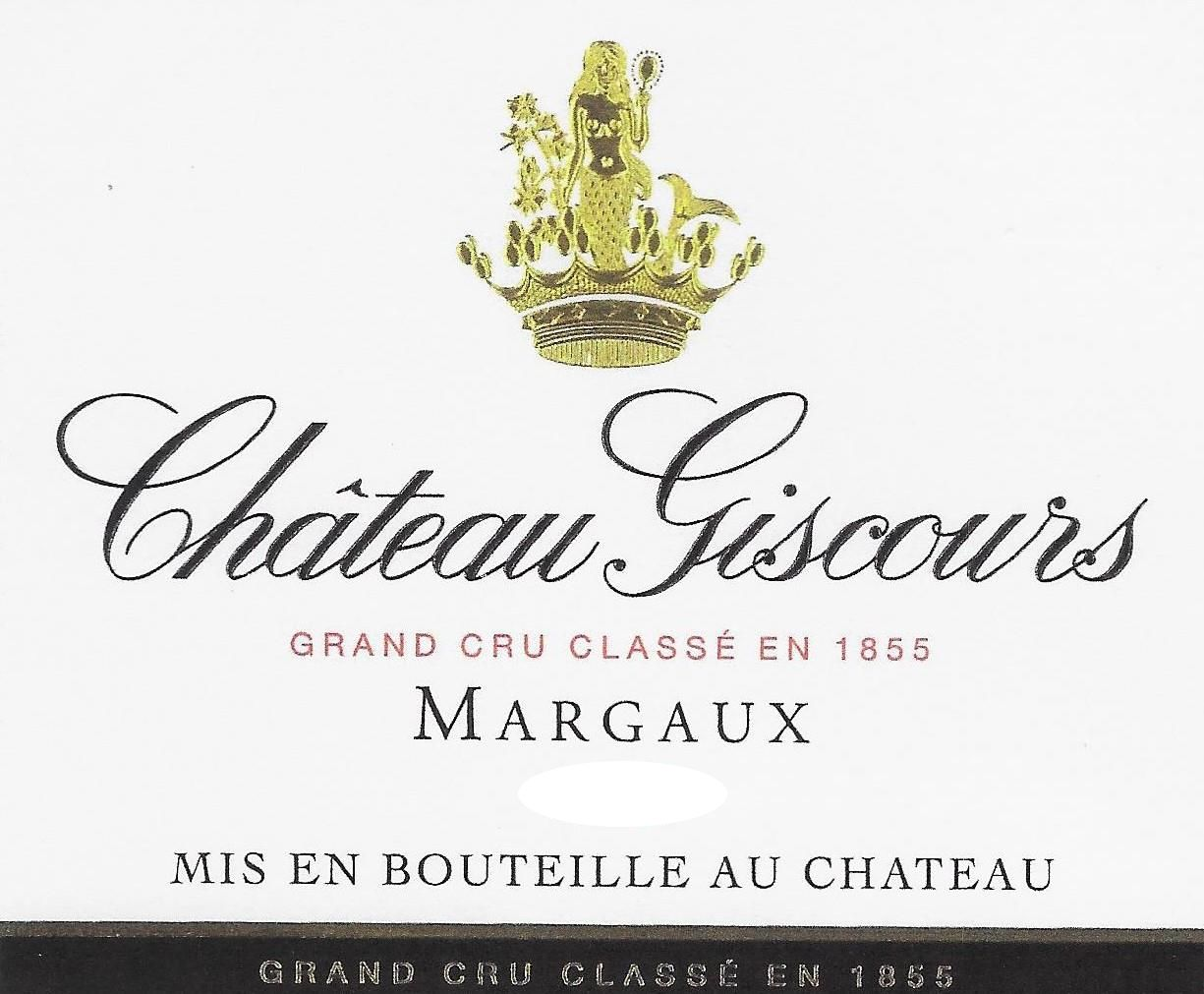 Chateau Giscours (1.5 Liter Futures Pre-Sale) 2018  Front Label