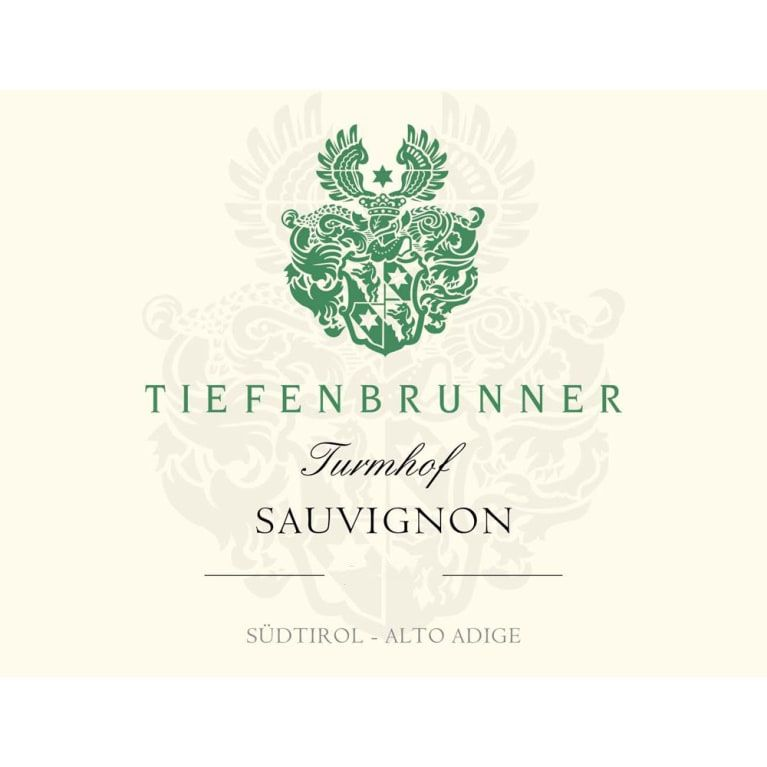 Tiefenbrunner Turmhof Sauvignon Blanc 2017  Front Label