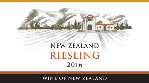Giesen Riesling 2016  Front Label