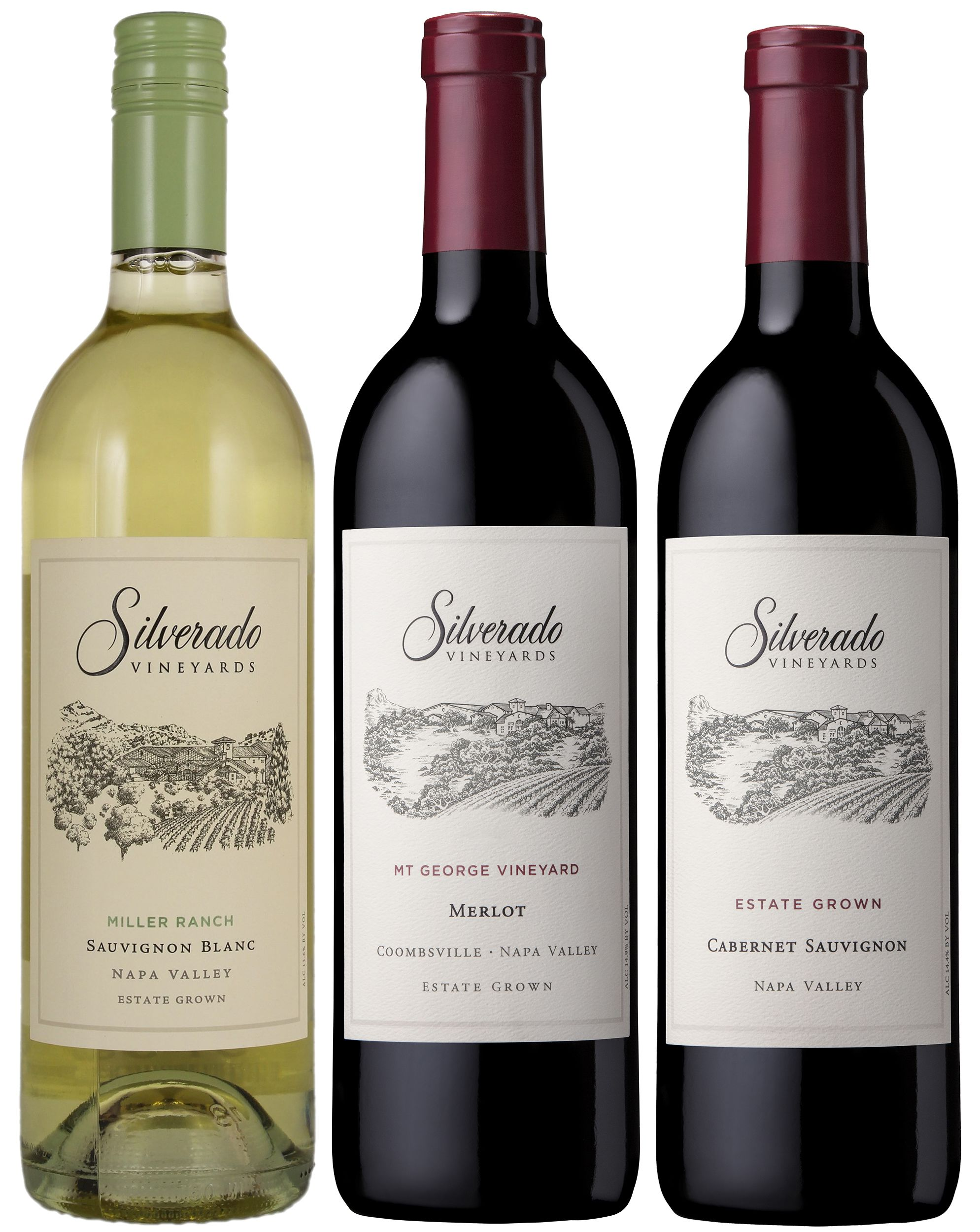 Silverado Winery Tasting Trio  Gift Product Image