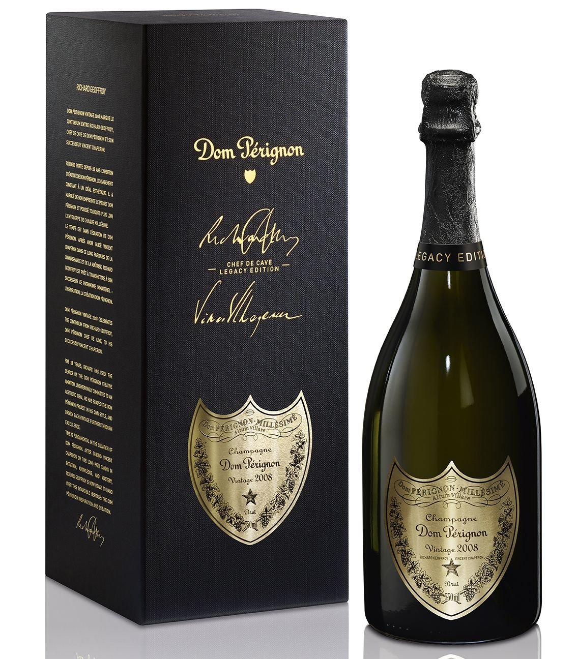 Dom Perignon Chef de Cave Legacy Edition in Gift Box 2008 Gift Product Image