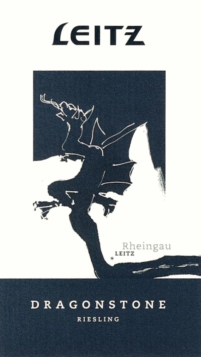 Josef Leitz Dragonstone Riesling 2017  Front Label