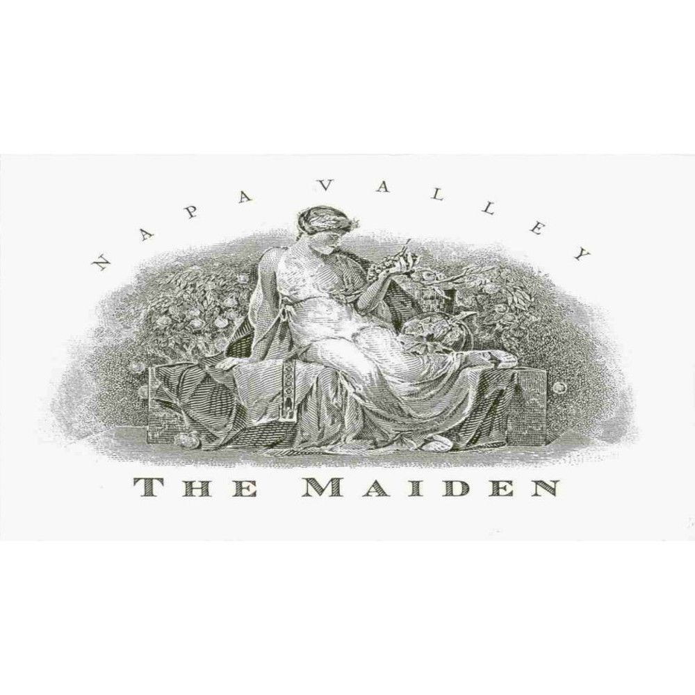 Harlan The Maiden 2010  Front Label