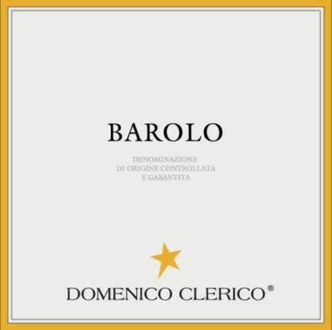Domenico Clerico Barolo  2016  Front Label