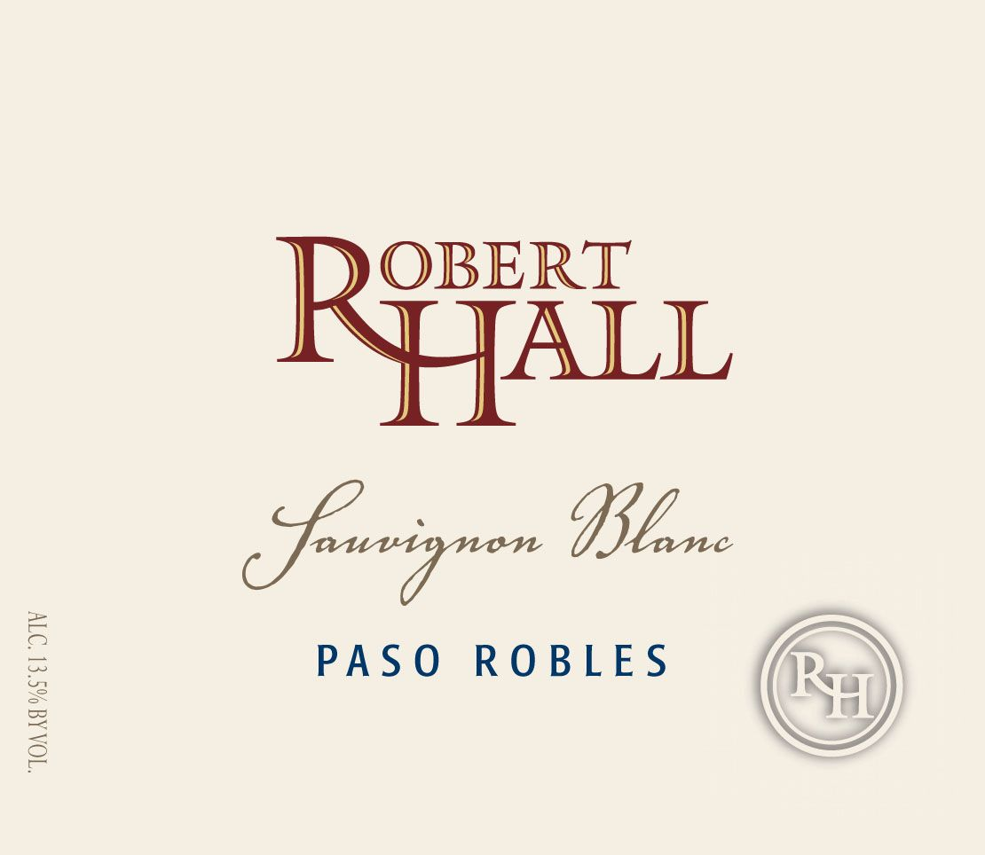 Robert Hall Sauvignon Blanc 2017 Front Label