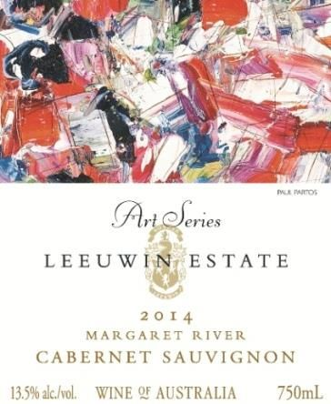 Leeuwin Estate Art Series Cabernet Sauvignon 2014  Front Label