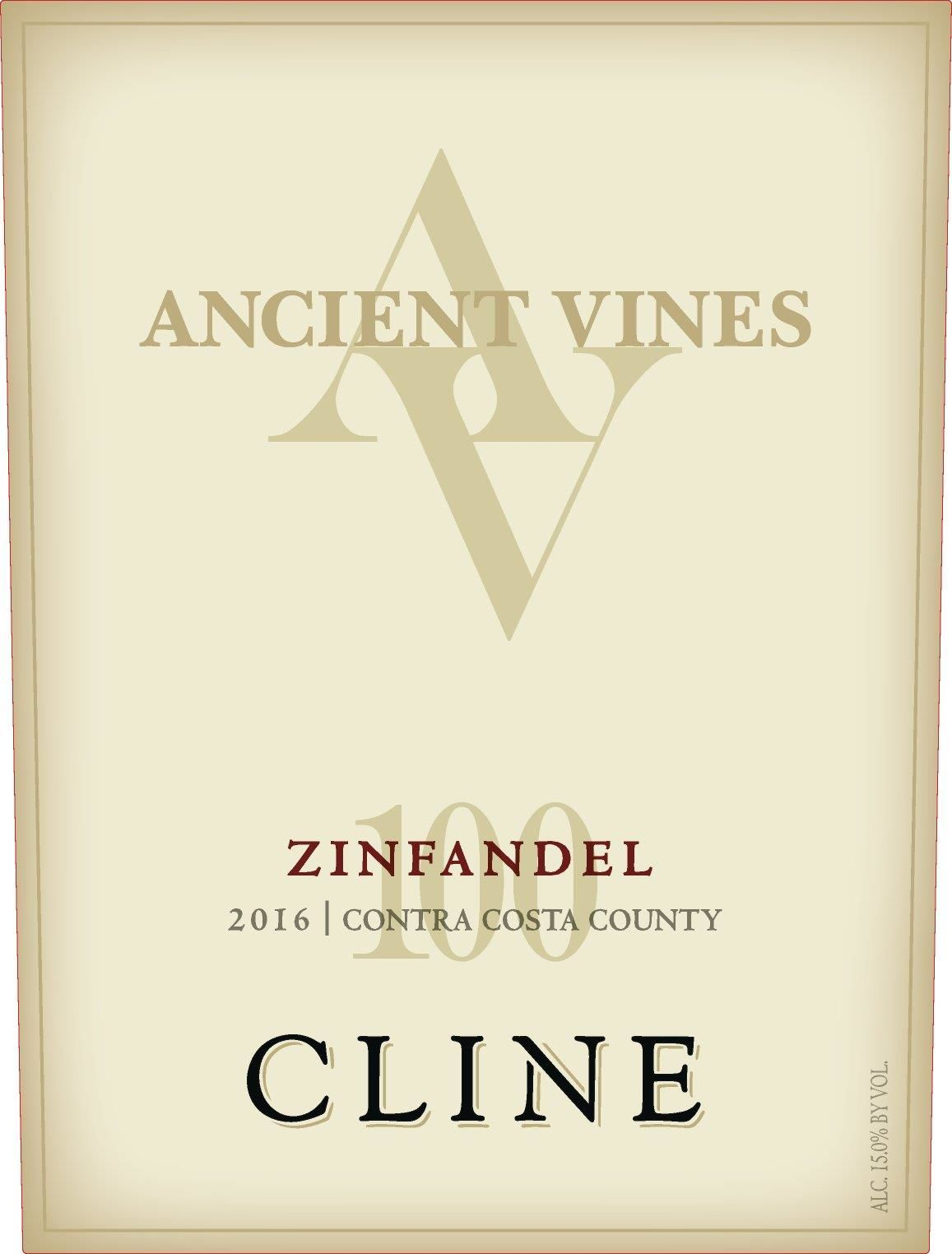 Cline Ancient Vines Zinfandel (1.5 Liter Magnum) 2016  Front Label