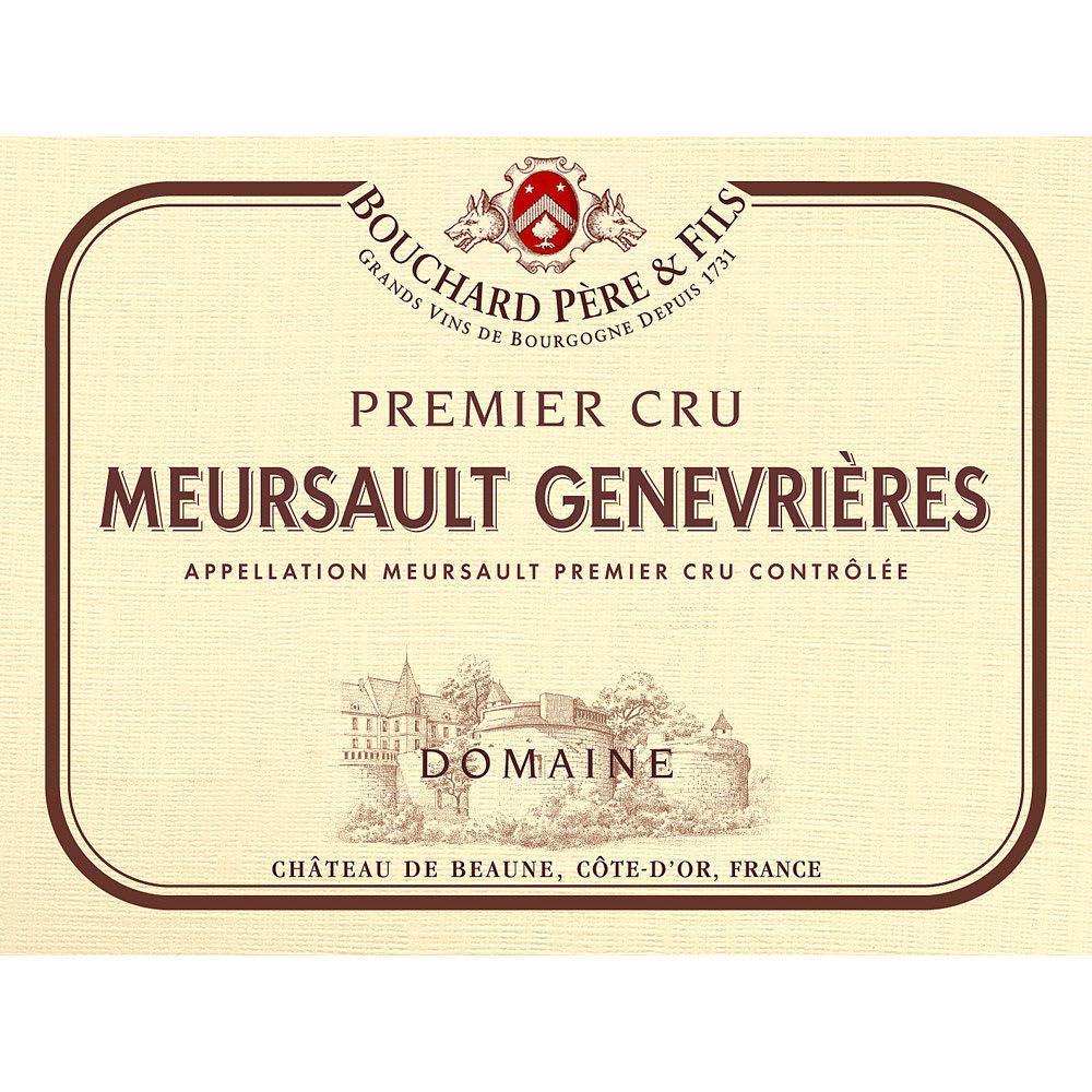Bouchard Pere & Fils 2013 Meursault Genevrieres Premier Cru - Chardonnay White Wine