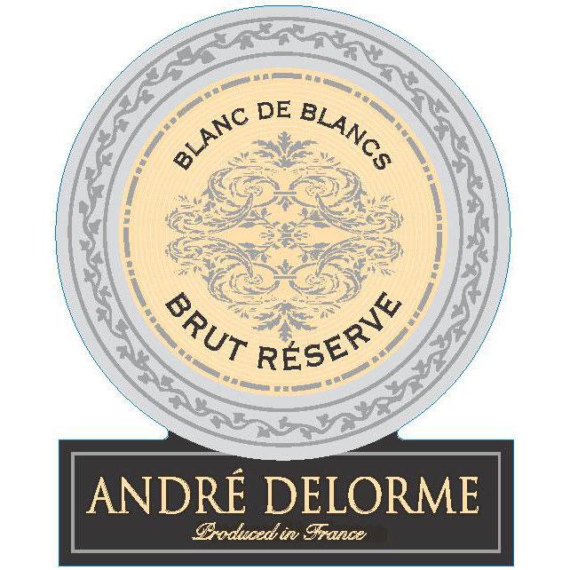 Andre Delorme Cremant de Bourgogne Blanc de Blancs Brut Reserve - Champagne & Sparkling