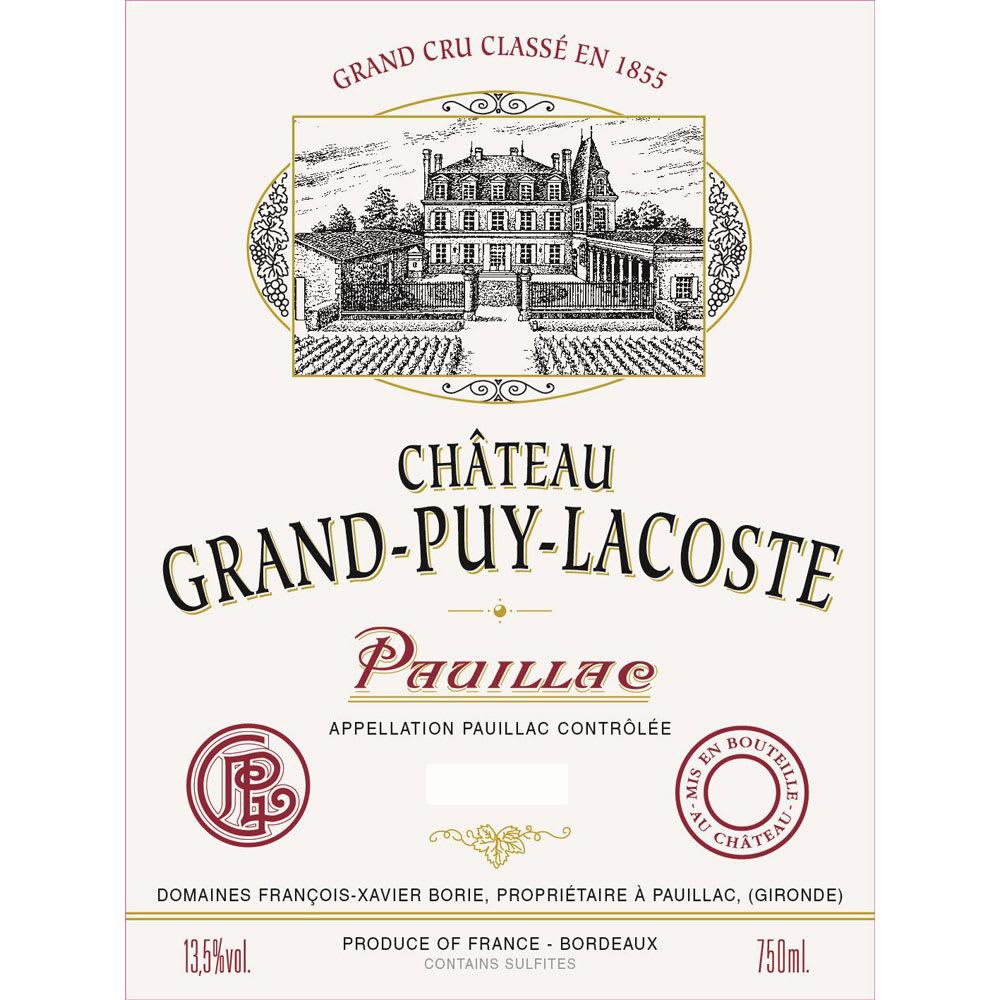 Chateau Grand-Puy-Lacoste 2015 (1.5 Liter Magnum) - Bordeaux Blends Red Wine