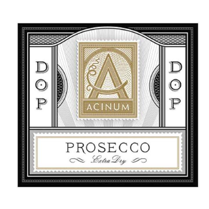 Acinum Extra Dry Prosecco - Champagne & Sparkling