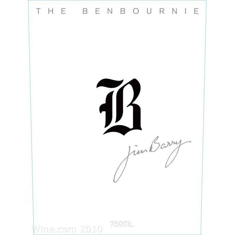 Jim Barry 2010 Benbournie...