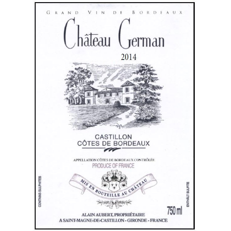 Chateau German 2014 -...