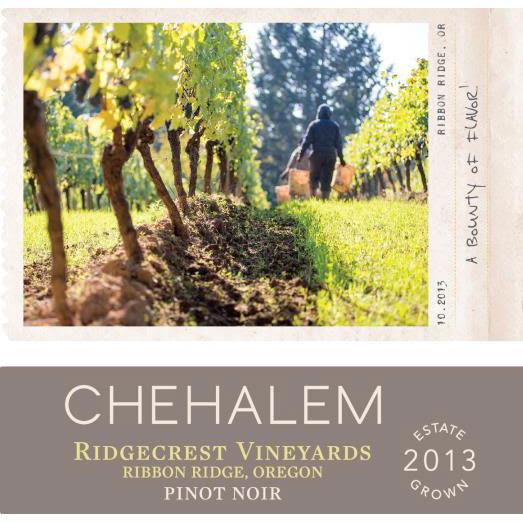 Chehalem 2013 Ridgecrest Vineyard Pinot Noir - Red Wine