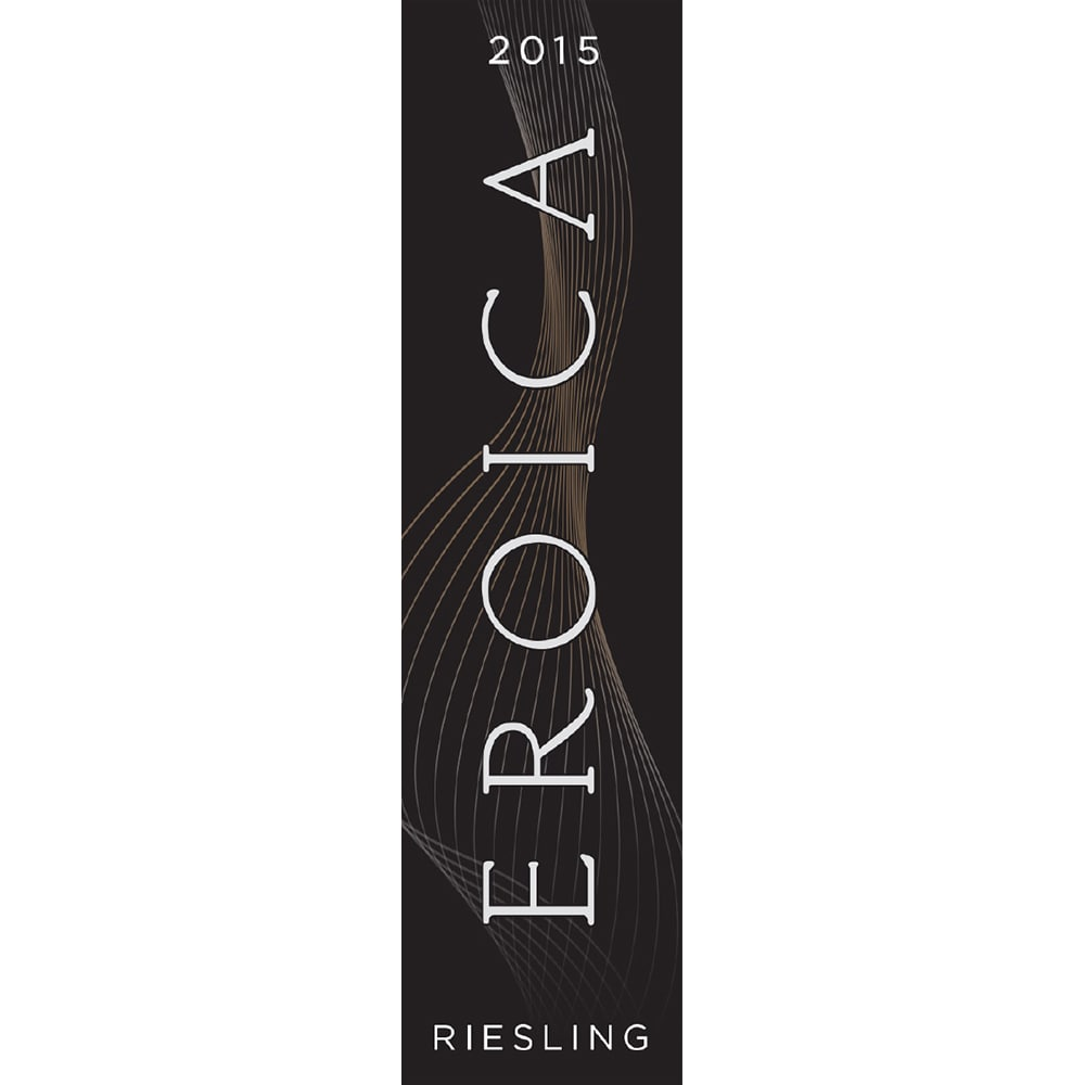 Eroica 2015 Riesling...