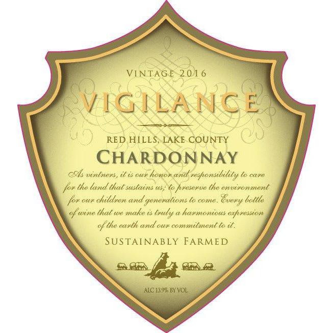 Vigilance 2016 Chardonnay...