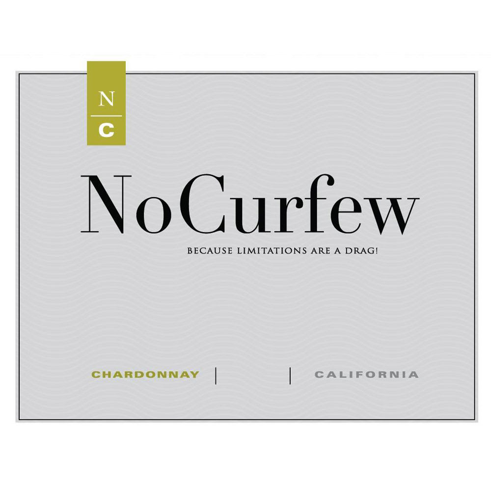No Curfew by Amici 2015 Chardonnay - White Wine