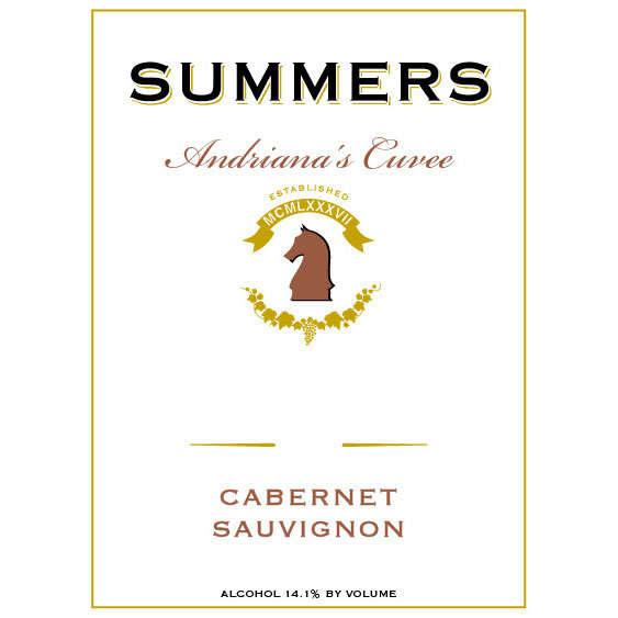 Summers Estate 2015 Andriana's Cuvee Cabernet Sauvignon - Red Wine