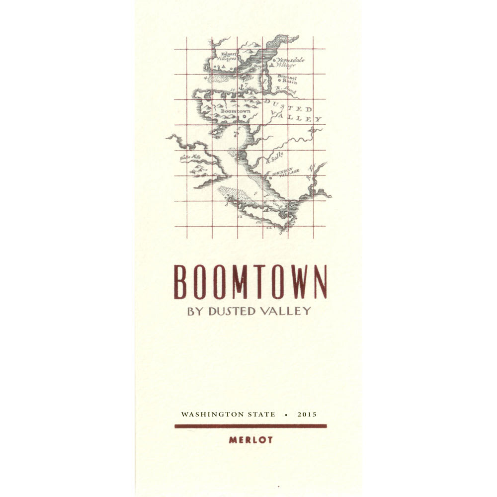 Boomtown by Dusted Valley 2015 Merlot - Red Wine