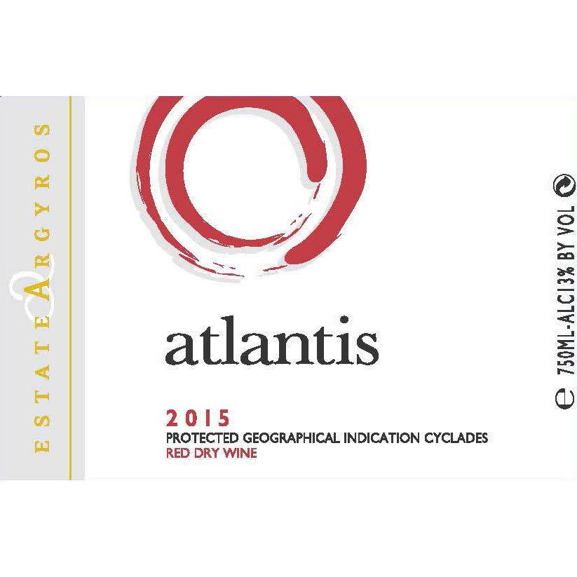 Argyros Estate 2015 Atlantis Red - Red Wine